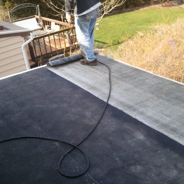 Modified Torch Down Roofing system on Gates Mills, Ohio